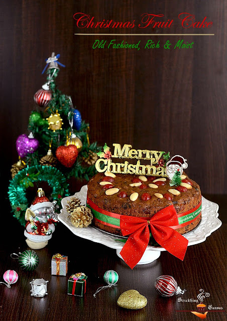 Rich & Moist Christmas Fruitcake