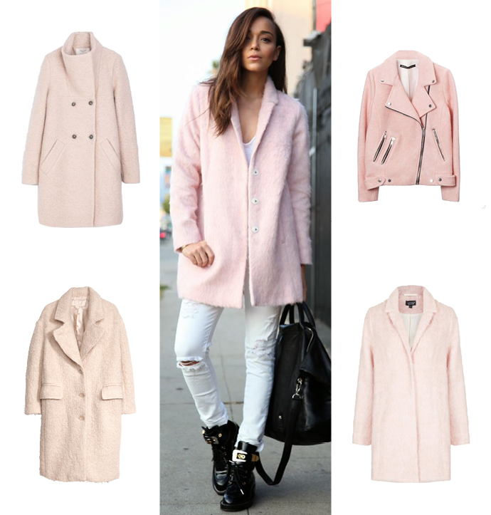 Collection Pale Pink Coat Pictures - Reikian