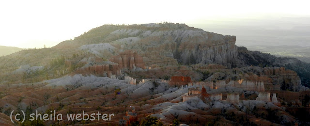 the view from Sunrise Point in Bryce Canyon