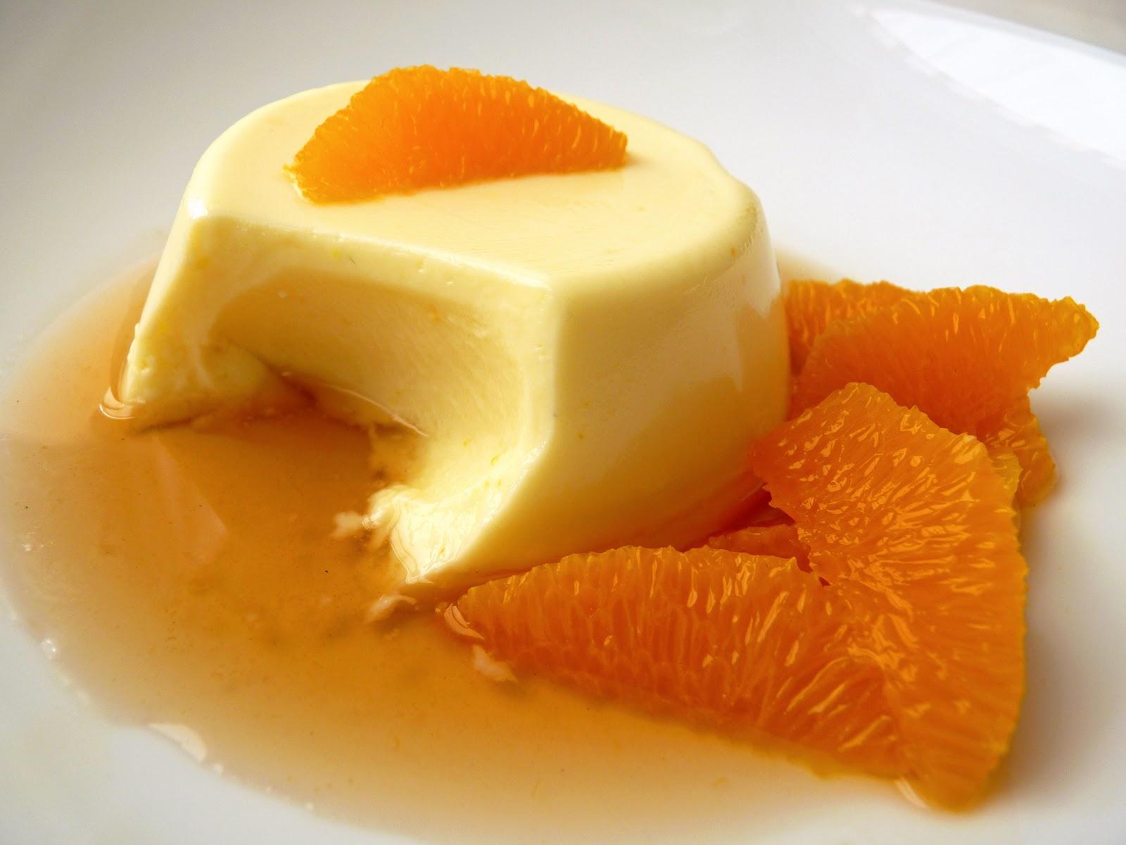 Апельсиновая панакота рецепт пошагово
