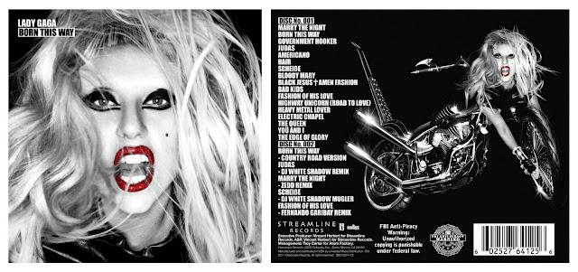 lady gaga born this way cover cd. lady gaga born this way album