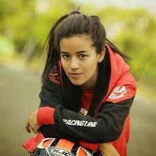 Biodata dan profil Sabrina Sameh Pembalap Cantik Pemeran sinetron Pangeran SCTV