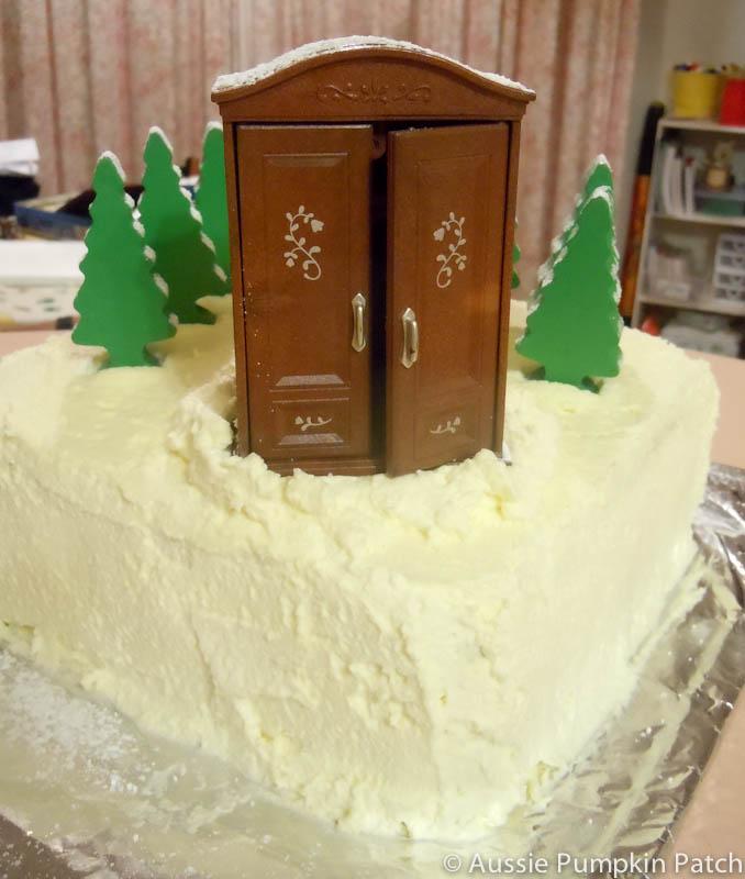 Aussie Pumpkin Patch Narnia Cake