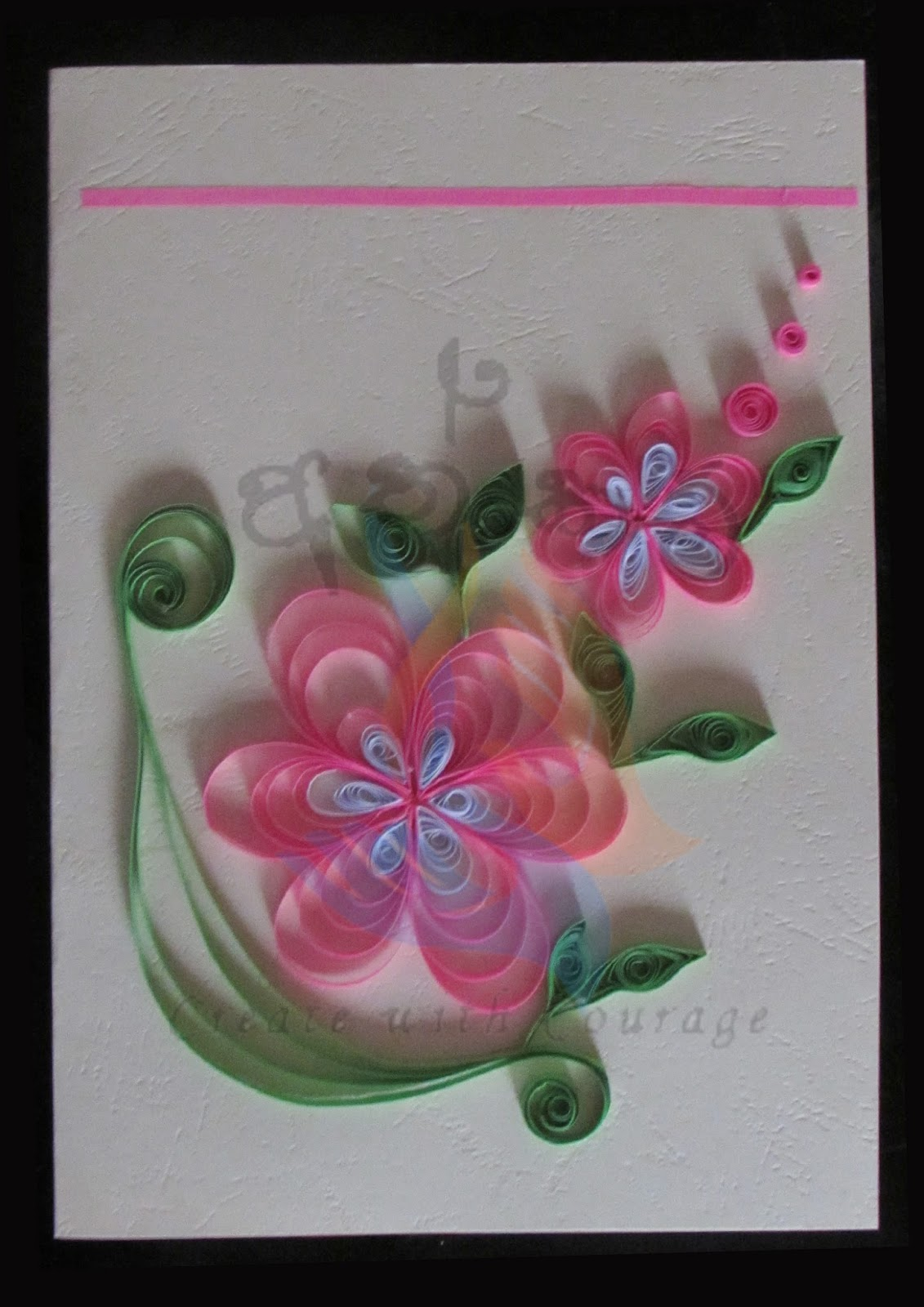 Athkam sri lanka handmade greeting cards with paper quilling like us m4hsunfo