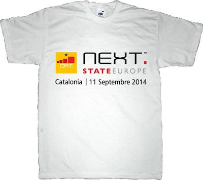 mobile world congress Barcelona catalonia freedom independence referendum t-shirt ephemeral-t-shirts