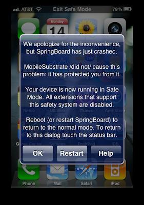 Cara Keluar Dari Safe Mode pada iPhone,iPad