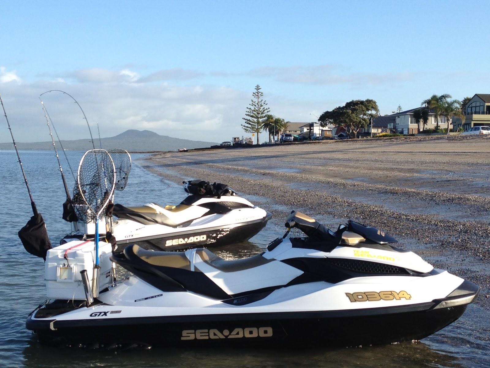 Jet ski fishing blog report 093 just dooing it at the for Fishing jet ski