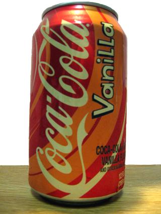 Refrescos de todo el mundo  CokeVanilla