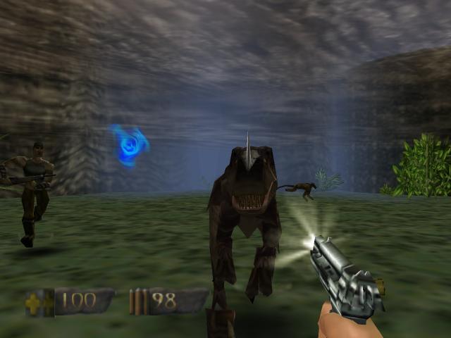 Retro spirit games classic game turok dinosaur hunter nintendo