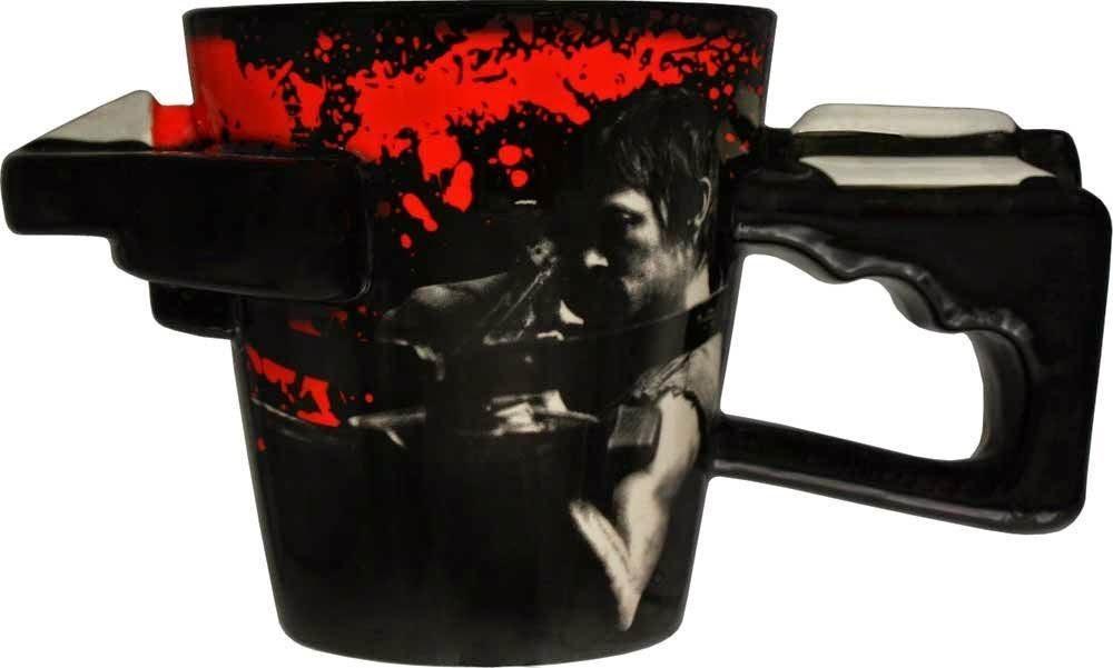 Taza ballesta de Daryl de Walking Dead
