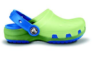 crocs dla dzieci orginalny dla chlopca w kolorze zielono niebieskim