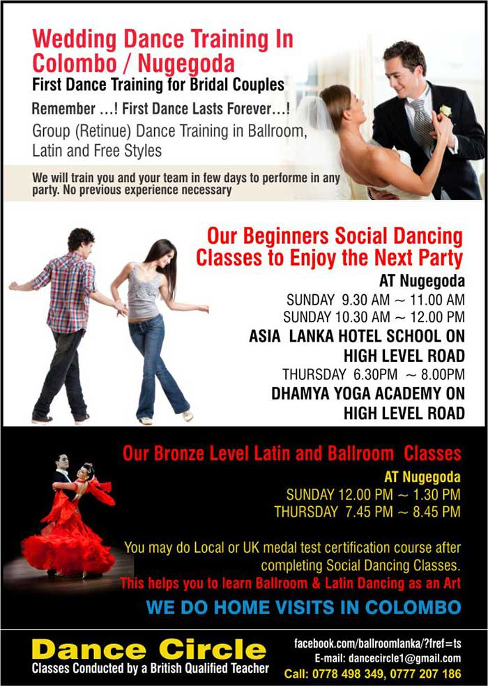Group (Retinue) Dance Training in Ballroom,  Latin and Free Styles