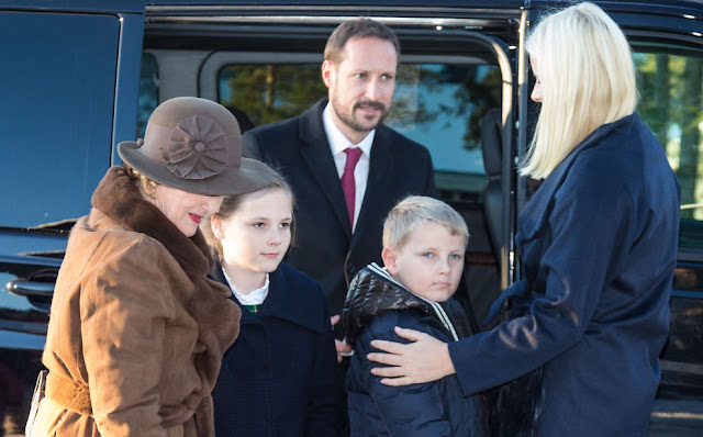 Princess Mette-Marit of Norway is married to Prince Haakon of Norway