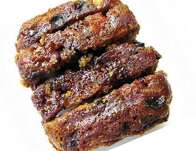 Eggless Fruit cake / Vegan  Christmas cake