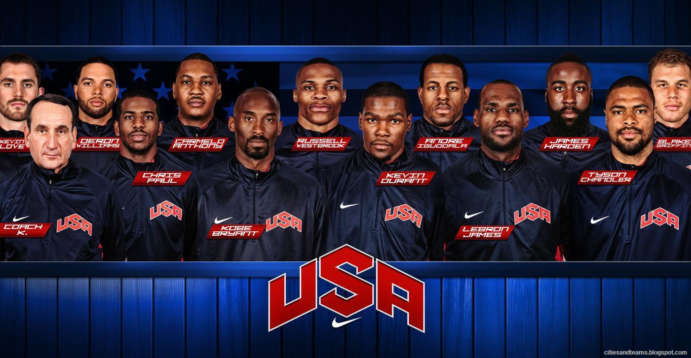 Basketball dream team london 2012 olympic games hd desktop wallpaper