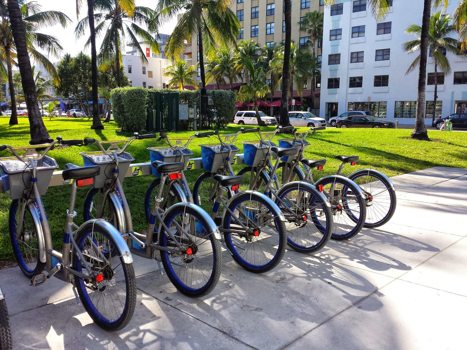 City Bikes Miami city with Citi Bike Miami