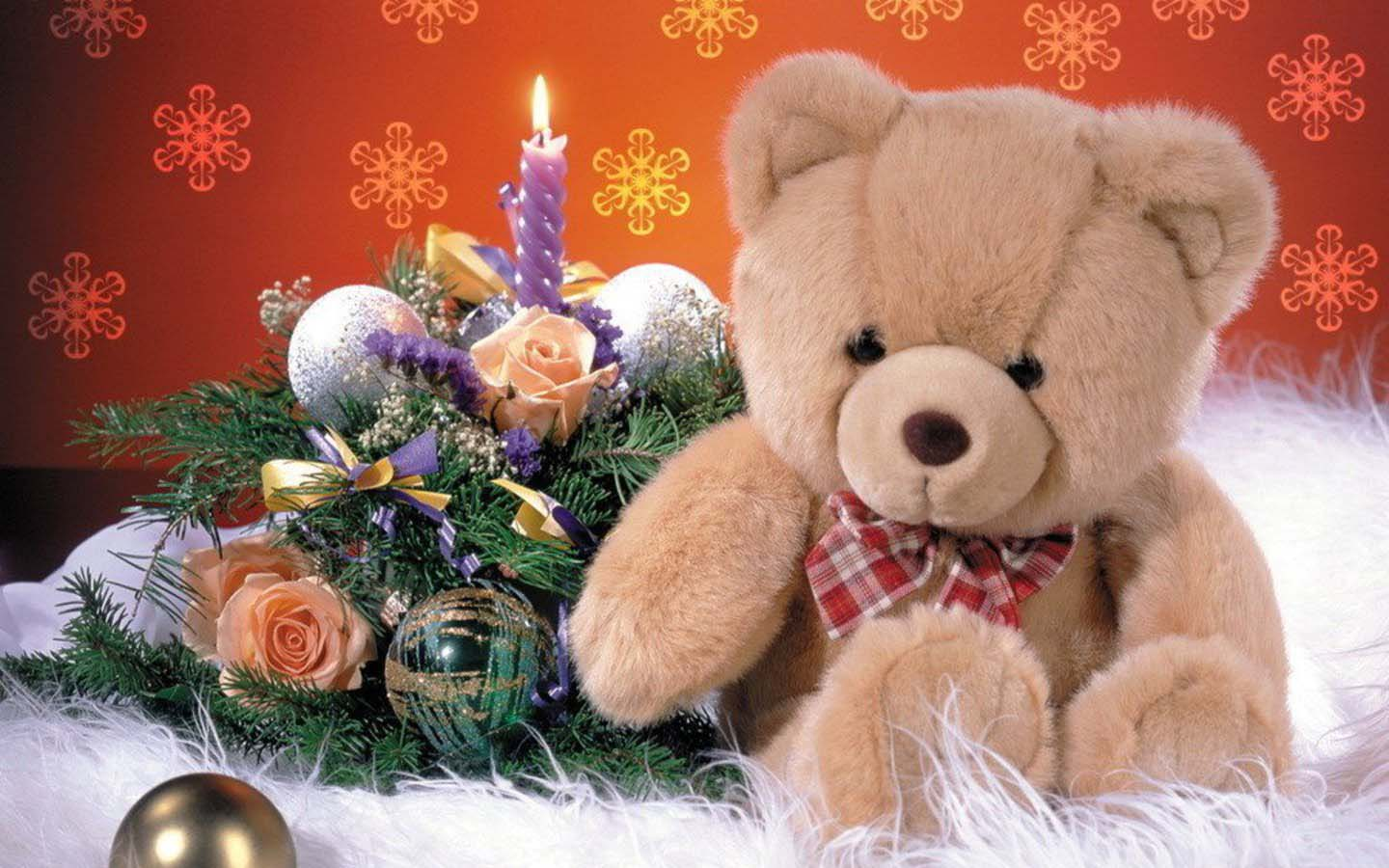 Lovely and beautiful teddy bear wallpapers duul wallpaper new year gift teddy bear pictures voltagebd Choice Image