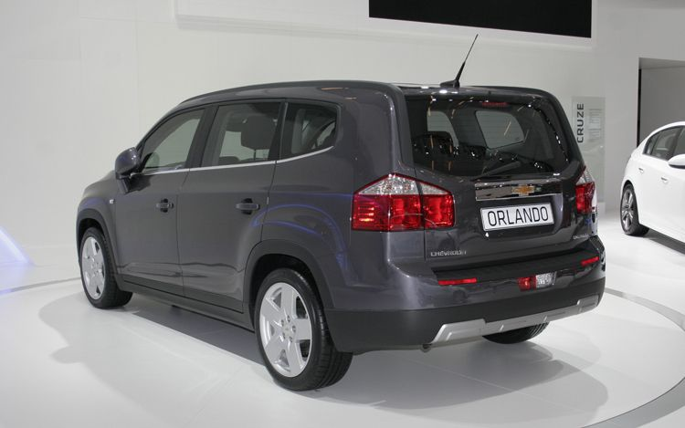 cars model 2012: 2011 Chevrolet Orlando