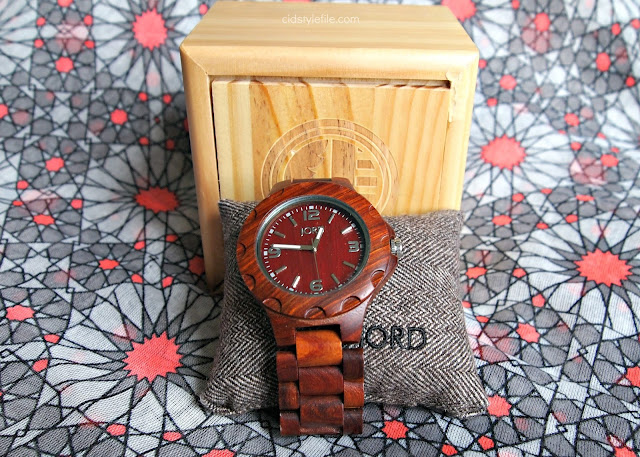 #jordwatch, wood watches, Jord, timepiece, sustainable wood, cid style file, ootd, unique, stylish, classic, cherry wood,