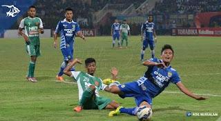 Persib Bandung kalah 0-2 dari PS TNI
