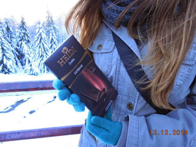 ciocolata neagra pentru iarna alba