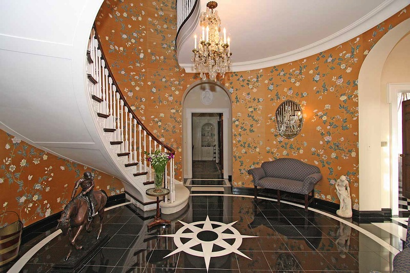Victorian Foyer Wallpaper : Old world gothic and victorian interior design fabulous
