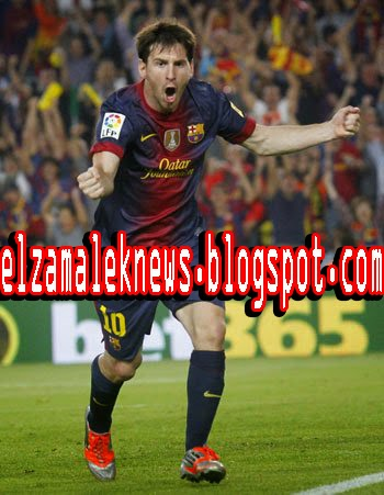 Lionel messi play maker of FCBARCELONA