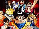 لعبة قتال نجوم الانمي النسخة الثالثة 4 Comic Stars Fighting