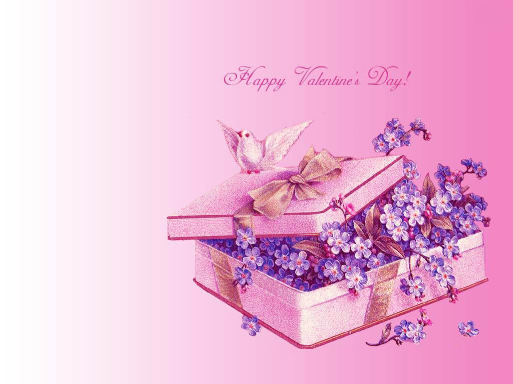 Love Wallpaper Gift : Happy Valentine Day with Gift Free Download - Love ...