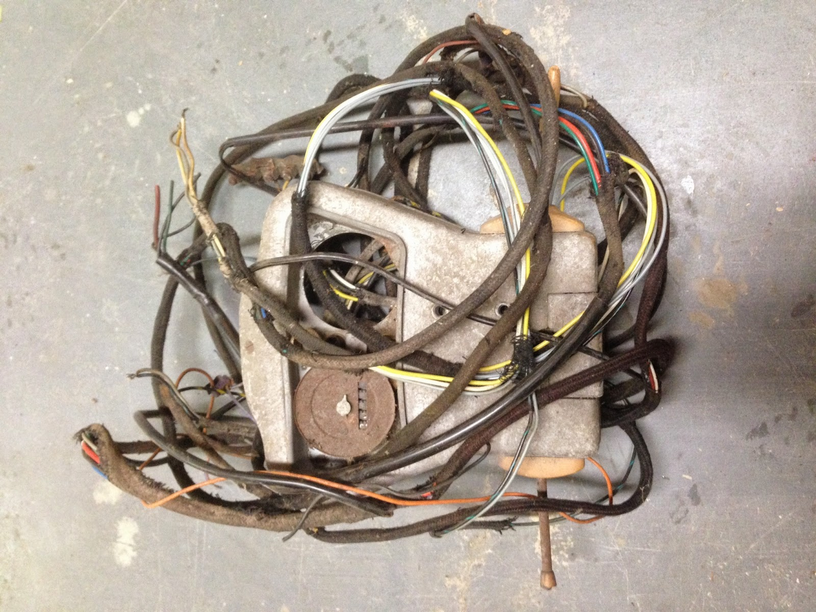 wiring harness restoration enthusiast wiring diagrams u2022 rh rasalibre co motorcycle wiring harness restoration Automotive Wiring Harness