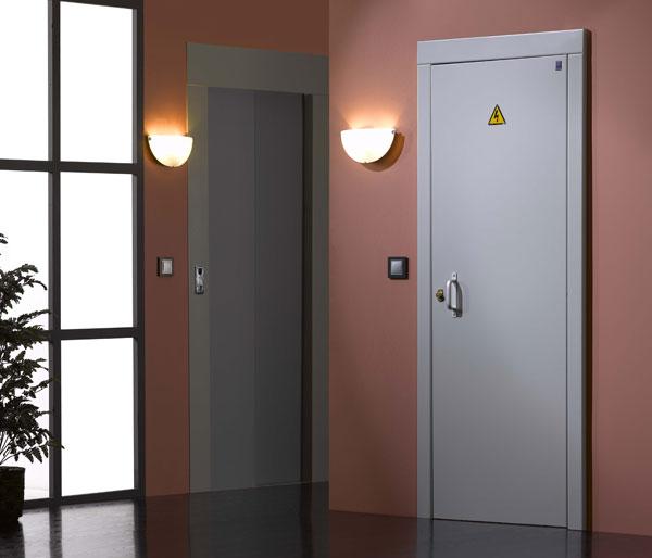 Artchist instalaciones el ctricas cuadro general de for Puertas de madera para cuartos