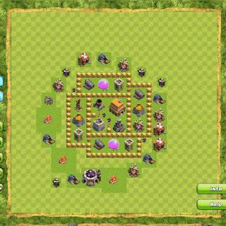 Base Clan War TH5 1