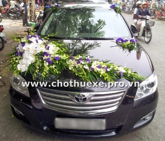 Cho thuê xe cưới Toyota Camry hạng sang 1