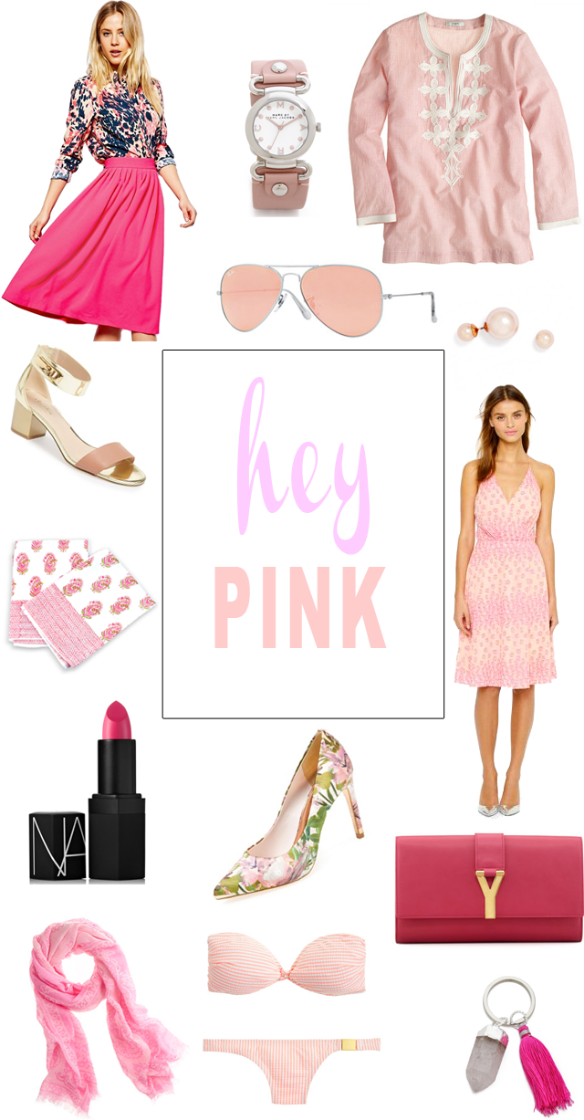 cute pink items
