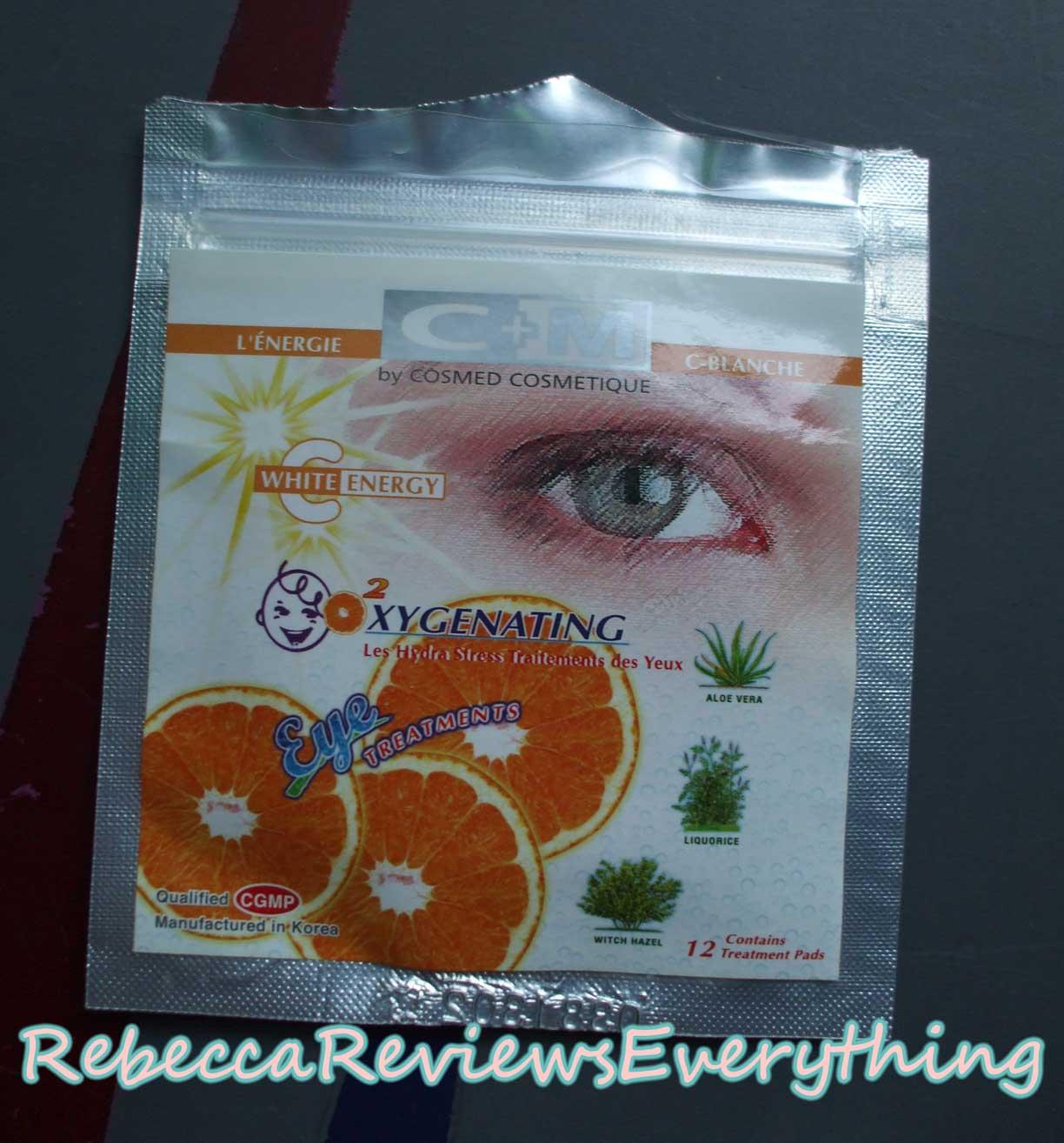 C+M Oxygenating Eye Treatments