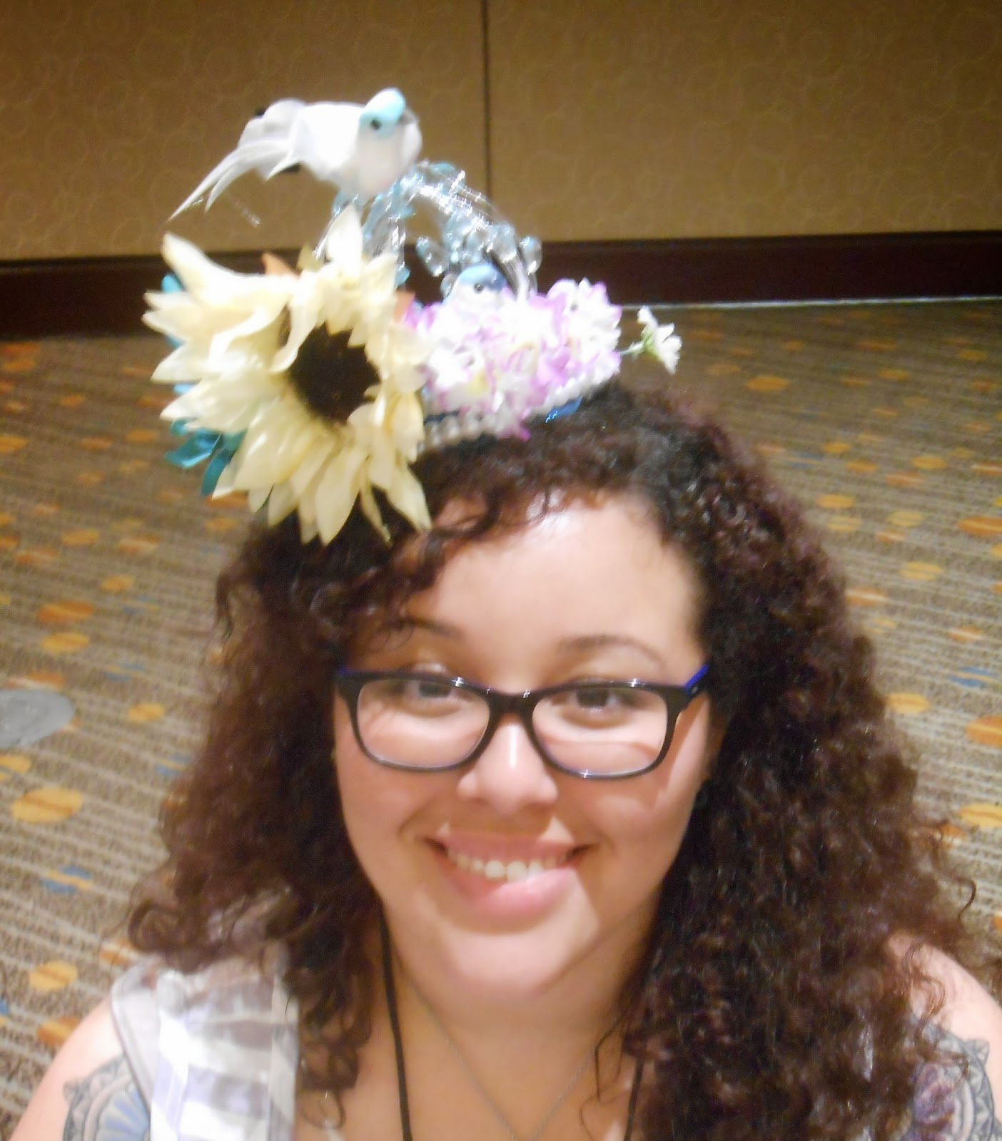 how to make your own fascinator with netting