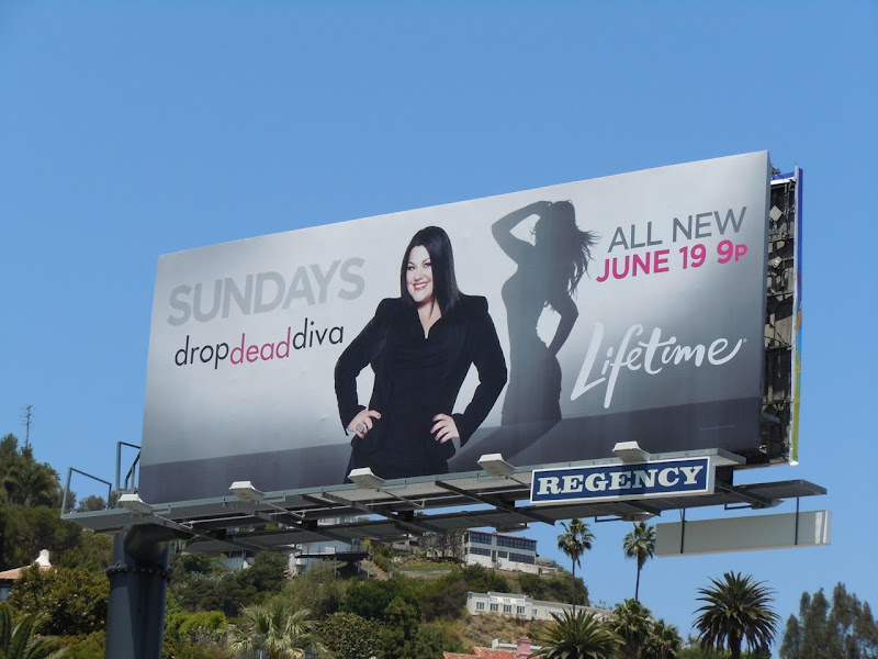 Drop Dead Diva 3 TV billboard