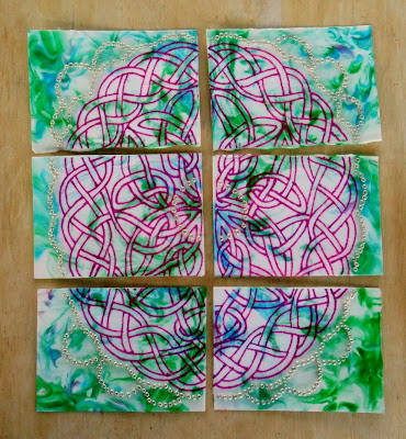 Celtic Curiosities ATC cards