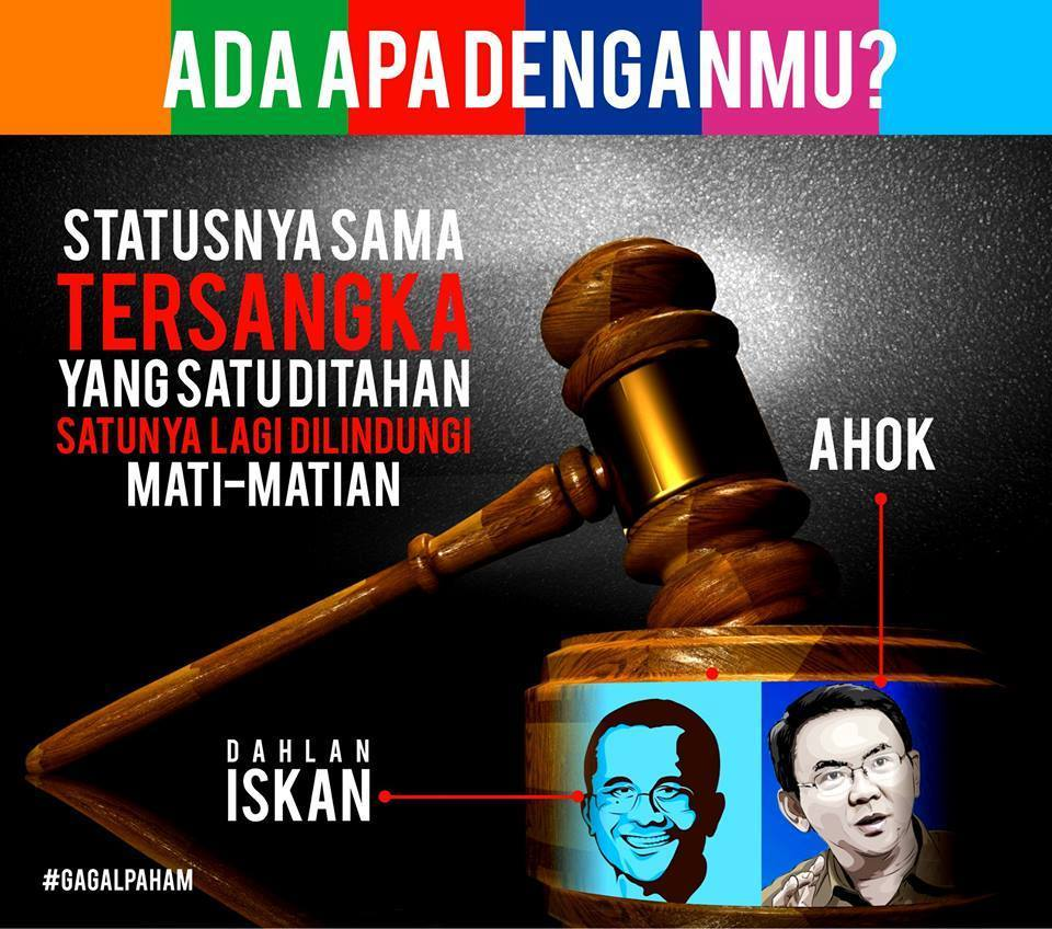 Hukum Tebang Pilih?