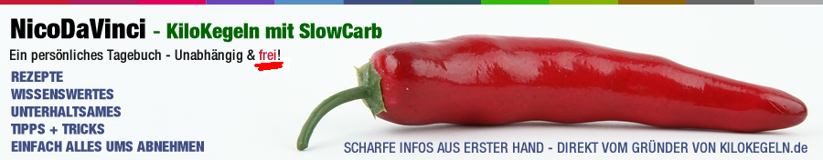 NicoDaVinci - KiloKegeln - Abnehmen mit SlowCarb
