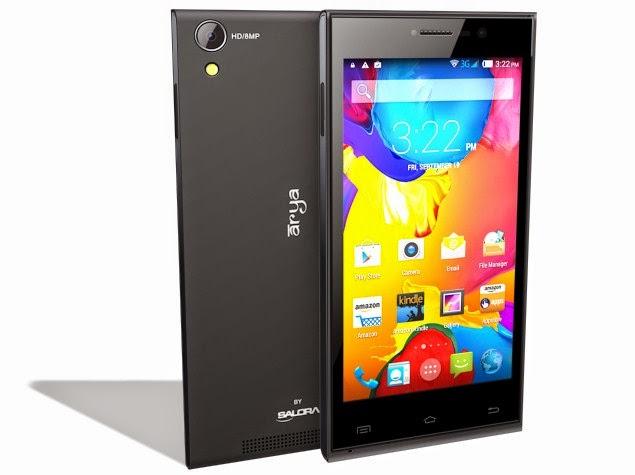 Salora Arya Z2 smartphone