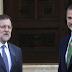Rajoy comparece derrotado ante el rey en Zarzuela