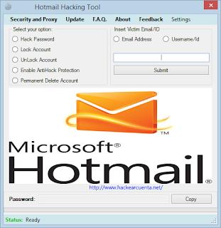hackear cuenta de hotmail