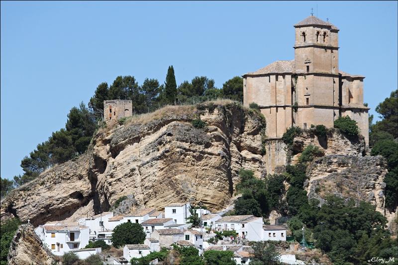 Mirablog de granada iglesia de la villa montefr o for Villas de granada