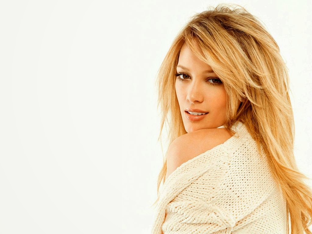 Hilary duff without cloth wallpapers