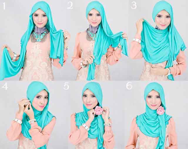 Cara Memakai Jilbab Modern yang Praktis | Tutorial Hijab