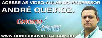 Vídeo-aulas do profº André Queiroz