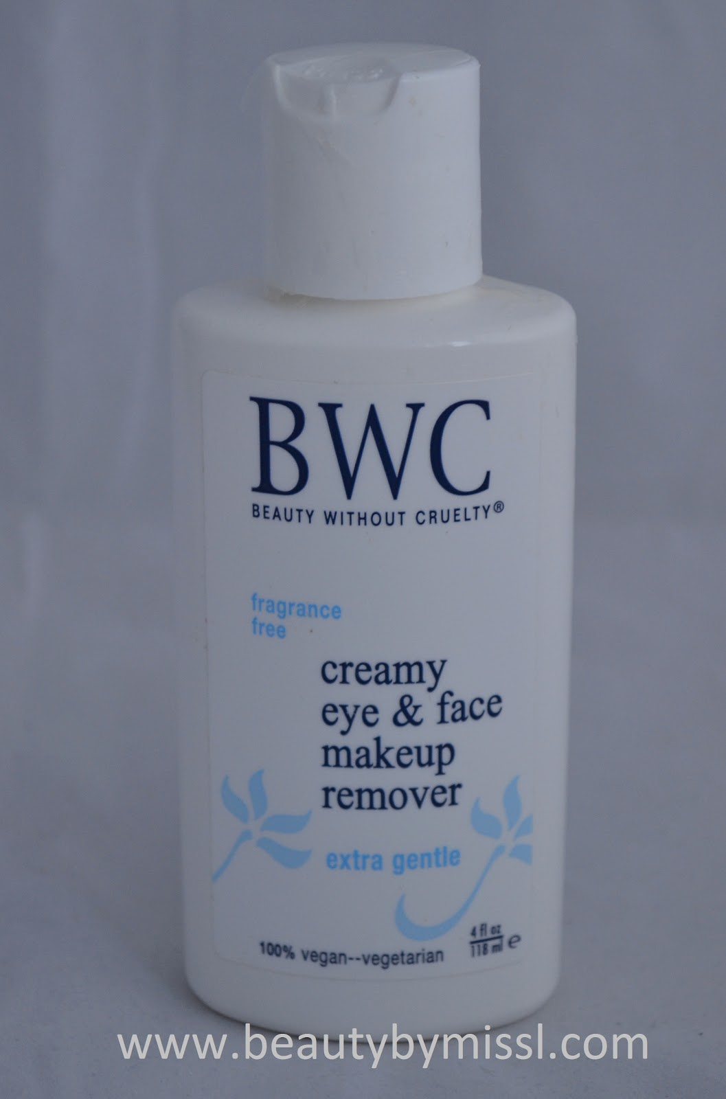 Beauty Without Cruelty Creamy Eye & Face Makeup Remover review