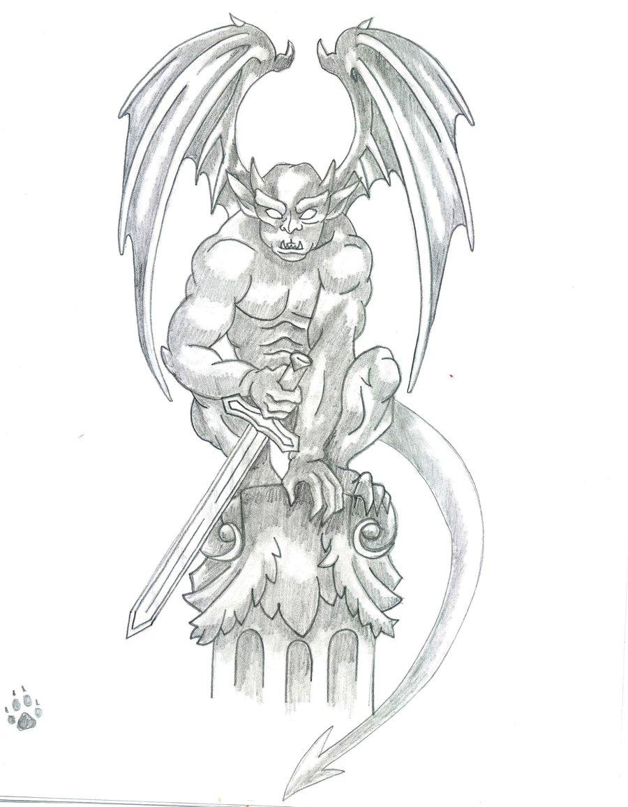 Hand Drawn Wings Vector Pack likewise Dragon Ball Z Dbz Goku Super Saiyan Anime Decal 1 further 3252336025 as well Gargoyle Tattoo Designs additionally Index. on best cartoon tattoos