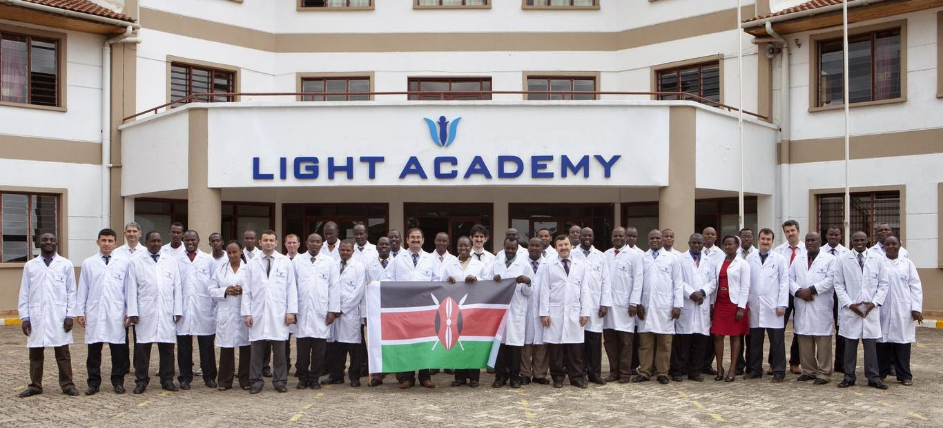 Kenya Light Academy staff